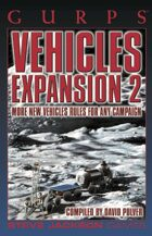GURPS Classic: Vehicles Expansion 2