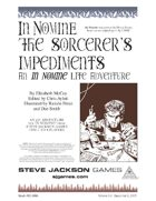 In Nomine: The Sorcerer's Impediments
