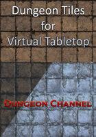 "Dungeon Tiles for VTT - 24x24"""