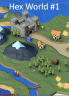 Hex World #1: 500 tiles and props to create your world.