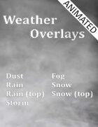 Animated Weather Overlays
