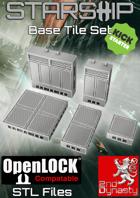 Starship 3D Printable OpenLOCK Deck Plans - Base Tiles