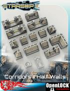 Corridor II Half S-Wall Tiles