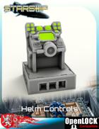 Starship Bridge Helm Controls