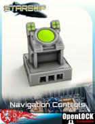 Starship Bridge Navigation Controls