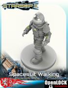 Spacesuit, Walking