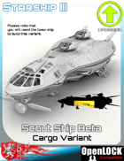 Scout Ship Beta Cargo Variant