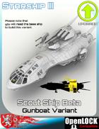 Scout Ship Beta Gunboat Variant