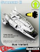 Space Shuttle Alpha Bus Variant