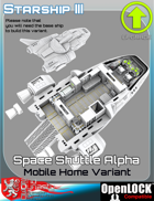 Space Shuttle Alpha Mobile Home Variant