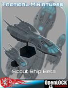 Tactical Miniatures Scout Ship Beta