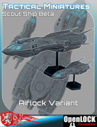Tactical Miniatures Scout Ship Beta Airlock Variant