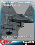 Tactical Miniatures Transport Delta Upper Deck Variant