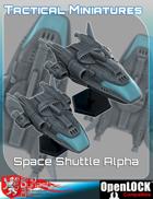 Tactical Miniatures Space Shuttle Alpha