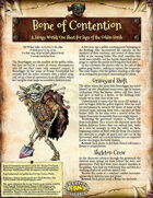 Saga of the Goblin Horde: Bone of Contention (Savage Worlds Deluxe)