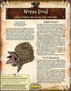 Saga of the Goblin Horde: Worm Food (Savage Worlds Deluxe)