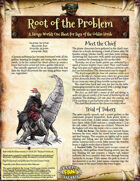 Saga of the Goblin Horde: Root of the Problem (Savage Worlds Deluxe)