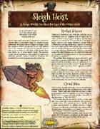 Saga of the Goblin Horde: Sleigh Heist (Savage Worlds Deluxe)