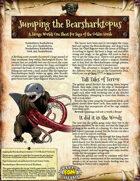 Saga of the Goblin Horde: Jumping the Bearsharktopus (Savage Worlds Deluxe)