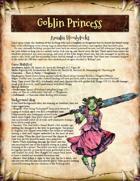 Saga of the Goblin Horde: Goblin Princess (Savage Worlds Deluxe)