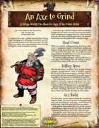 Saga of the Goblin Horde: An Axe to Grind (Savage Worlds Deluxe)
