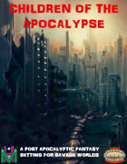 Children of the Apocalypse - Character Sheet