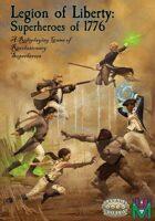 Legion of Liberty: Superheroes of 1776