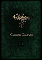 Elizabethan Adventures: Character Generator
