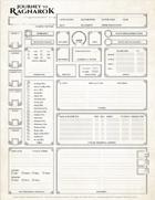 Journey To Ragnarok - Character Sheet