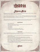 Historia - Hippocras Recipe