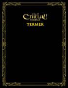 Call of Cthulhu Sverige: Termer