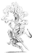 Reflector Ghast, 5e Monster, Hildy's Twisted Arcana