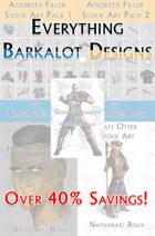Everything Barkalot Designs RPG Stock Art [BUNDLE]