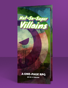 Not-So-Super Villains