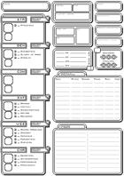 8bit/16bit RPG Style Character Sheet