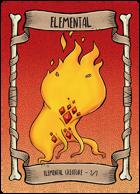 Elemental Red Token