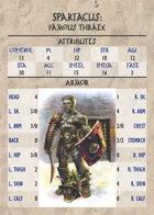 GQR Expansion: Famous Gladiators (Set #1)