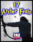 17 Archer Feats