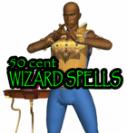50 Cent Wizard Spells
