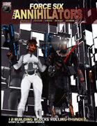 Force Six, The Annihilators 12 Building Blocks Rolling Thunder