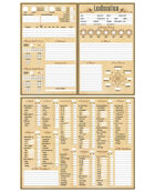 LexOccultum: Character Sheets