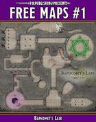 P.B. Publishing Presents: FREE MAPS 1 - Baphomet's Lair