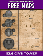 P.B. Publishing Presents: FREE MAPS 9 - Elsior's Tower