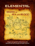 Sirens of Sea and Blood (Elemental Edition)