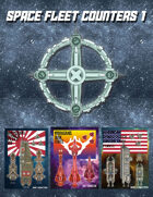 SPACE FLEET COUNTERS 1 [BUNDLE]