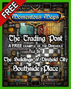 A FREE Building of Direhold City: The Trading Post