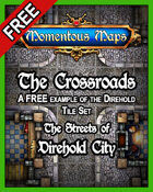 A FREE Building of Direhold City: The Crossroads