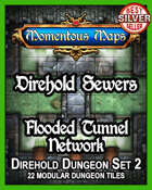 Direhold Sewers: Flooded Tunnel Network