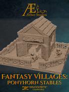 Fantasy Villages: Ponyhorn Stables