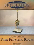 Sky Islands: Free Floating Rocks